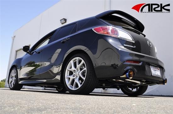 Gen  Mazda  Cat Back Exhaust
