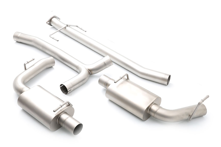 CPE Austenite™ Dual Cat-Back Exhaust System for Mazdaspeed 6 - MZAE00007T