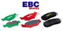 EBC Sport Brake Pads for Mazdaspeed 3 (front pair)