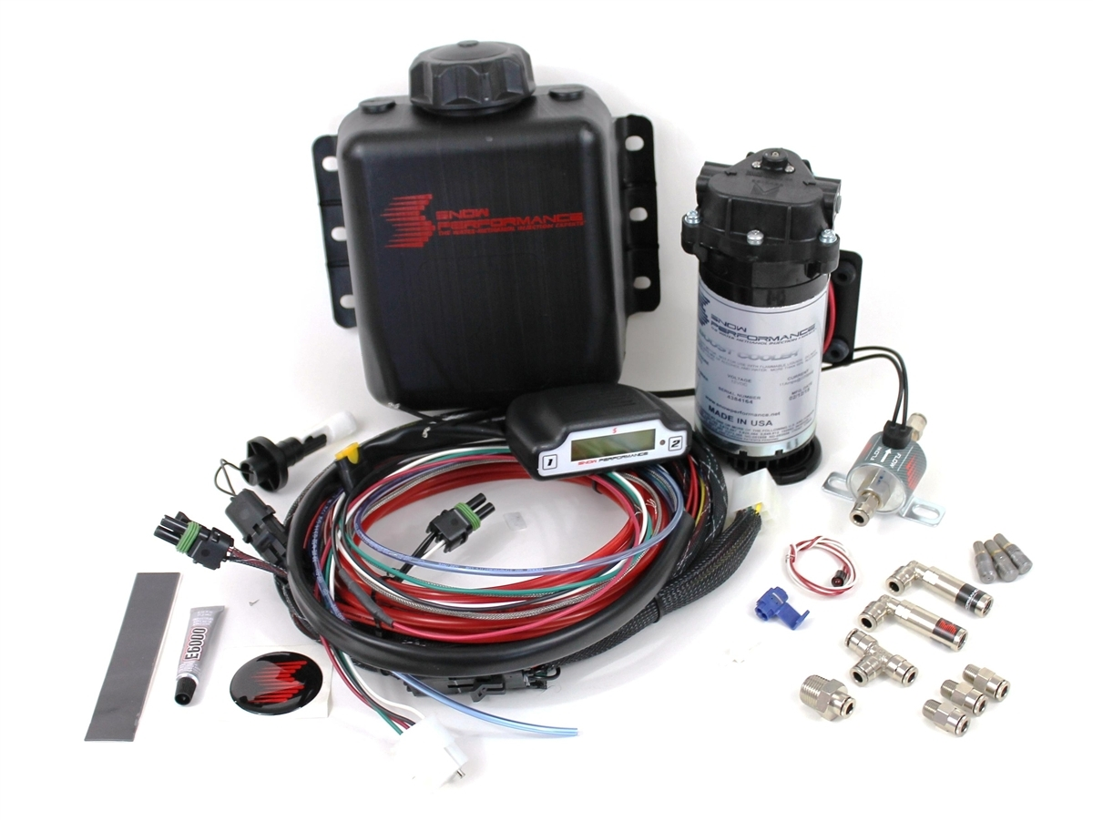 Snow Performance Stage 1 Water Methanol Injection Kit #201 Boost cooler Kit
