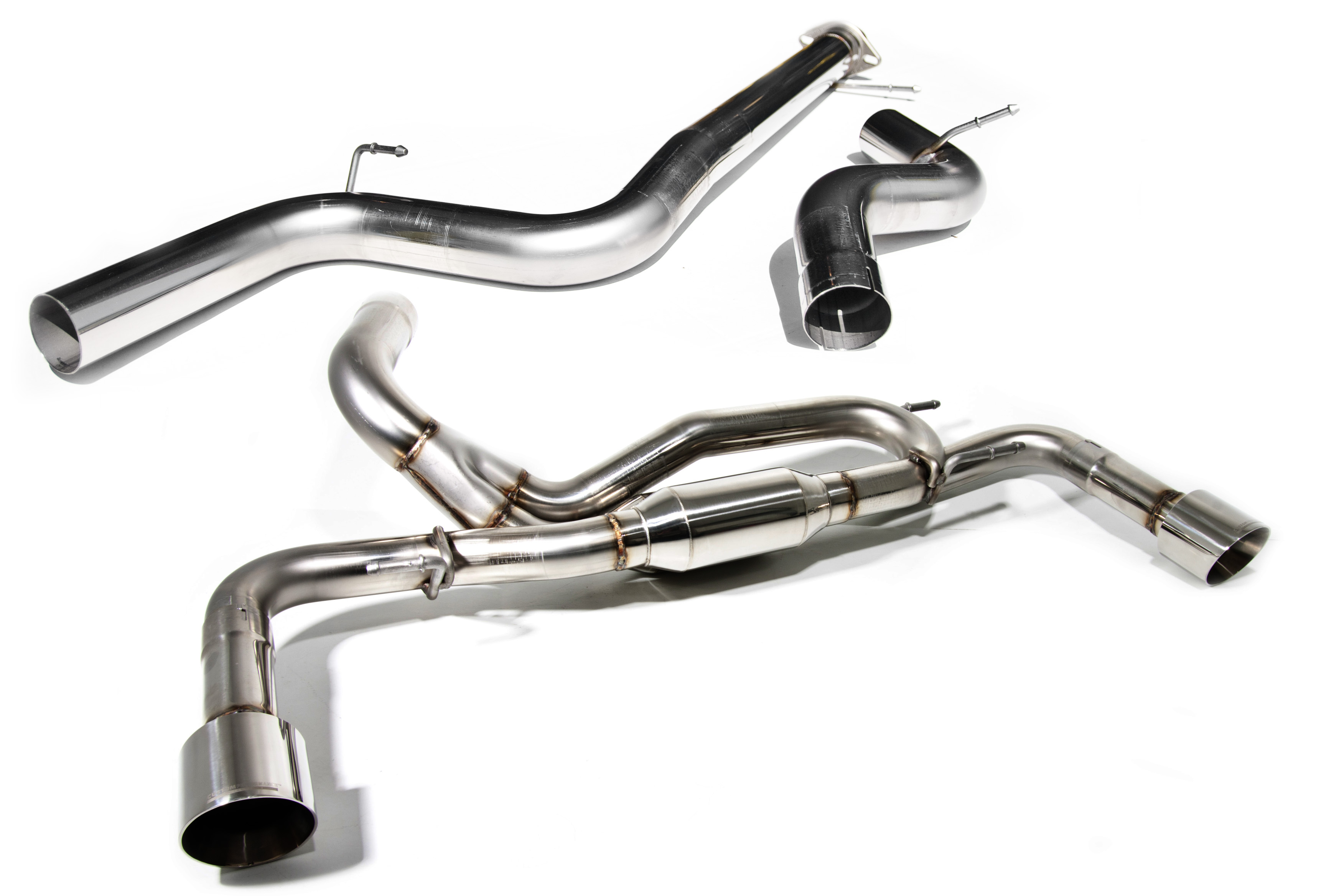 CPE Triton 3-inch Cat-back Exhaust for Gen2 Mazdaspeed 3