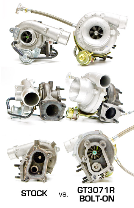 ATP Turbo GT3071RGTX3071R BoltOn Turbo Kit for Mazdaspeed 3 ATP