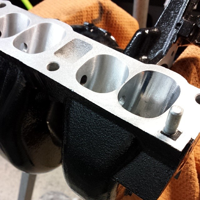 Relentless Customs Ported and Polished Intake Manifold for